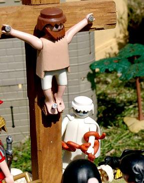 Cena da crucificação
